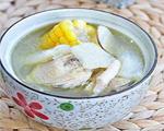 五指毛桃海底椰竹荪鸡汤