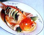 清蒸荷包红鲤鱼