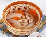 莲子秋梨莲藕汤