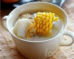 玉米山药花蛤鸡汤