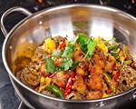 香菇干锅鸡