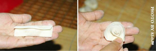 两种元宝水饺的详细包法