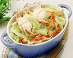 螃蟹酱烧白菜