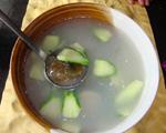 青瓜皮蛋汤