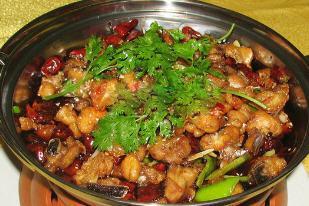 红烧鸡块的家常做法_麻辣火锅鸡怎么做好吃_麻辣火锅鸡的做法-聚餐网