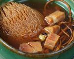 虫草花猴头菇咸肉汤