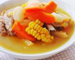 田园时蔬排骨汤