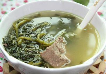 西洋菜陈肾生鱼汤