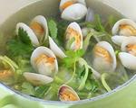 青萝卜蛤蜊汤