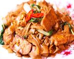 泰式酱油豆腐炒河粉
