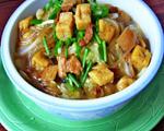 猪肉粉条豆腐泡