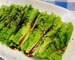 凉拌莴苣叶