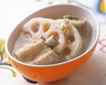 莲藕薏米排骨汤