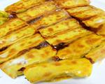 西葫芦虾皮素锅贴