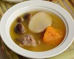 南瓜菌菇排骨汤