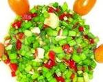 凉拌韭菜苔