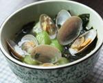 裙带菜花蛤汤