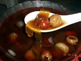 美容养颜芦荟甜汤