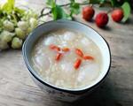 荔枝米荞粥