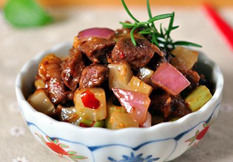 榨菜榨菜丁的牛肉_做法面条丁做好吃图解蛋糕牛肉大全做法图片