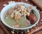 荷叶薏米冬瓜汤