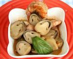 北极虾菌菇酸辣汤