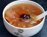 银耳皂角米红枣梨汤