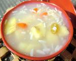 香蕉米酒甜汤