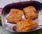 苋菜糯米桃子派