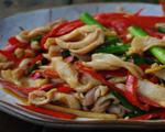 粤式酸菜炒猪肚