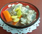 蚕豆胡萝卜筒骨汤