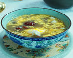 阿胶红枣鸡蛋汤