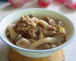草菇排骨汤