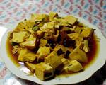 牛肉烧嫩豆腐