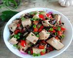 酱菜肉末豆腐