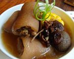 茶树菇猪尾汤