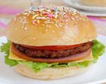 自制猪肉汉堡包