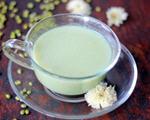 菊花绿豆浆