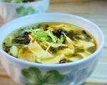地皮菜蛋皮汤