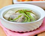 海带豆腐羊排汤