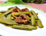 卤水豌豆羊肉