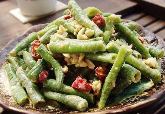 酱拌做法的生理_酱拌豆角做好吃_家常菜豆角期可以吃榨菜吗图片