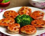 香煎泰式甜辣藕饼