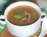 丝瓜榨菜牛肉汤