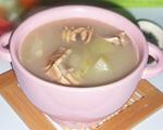 节瓜墨鱼干汤