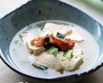 墨鱼干豆腐汤