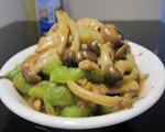 丝瓜白玉菇