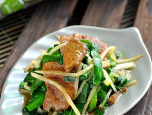 肝的菜谱_韭菜炒猪肝做好吃_家常鸭肉_聚菜干炆做法煲好吃吗图片