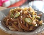 洋葱炒黄瓜片