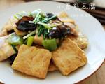 小葱煎豆腐(配五花肉)